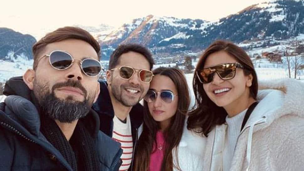 Virat Kohli-Anushka Sharma run into Varun Dhawan-Natasha Dalal in Gstaad