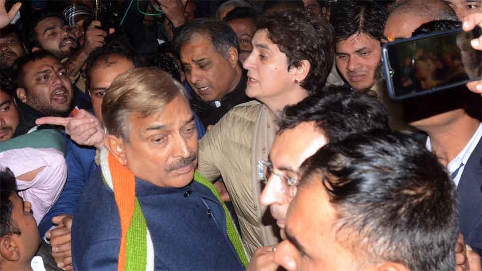 CRPF blames Priyanka Gandhi for violating protocol during Lucknow visit, says no breach in her security