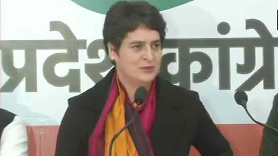 Citizenship law is against Constitution: Priyanka Gandhi; UP DCM rubbishes her allegations against Yogi govt