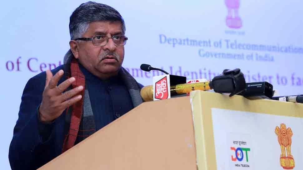 Ravi Shankar Prasad launches web portal for tracing stolen mobiles in Delhi