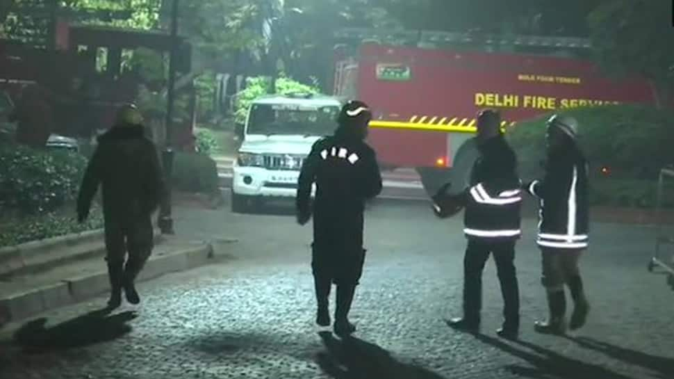 Fire reported at Prime Minister Narendra Modi's residence at 7 Lok Kalyan Marg; 9 fire tenders reach spot