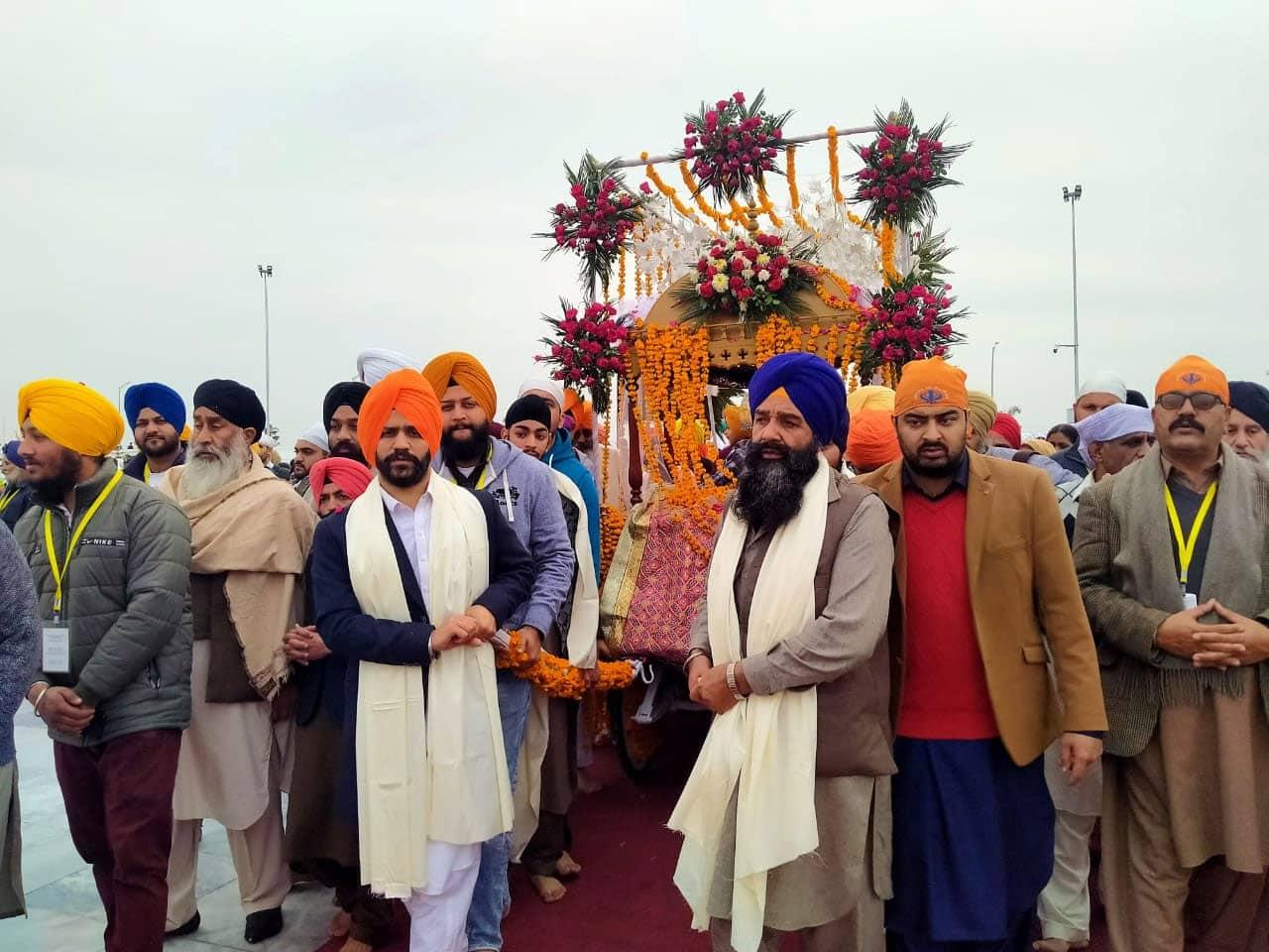 Guru Gobind Singh Ji's birthday celebrations