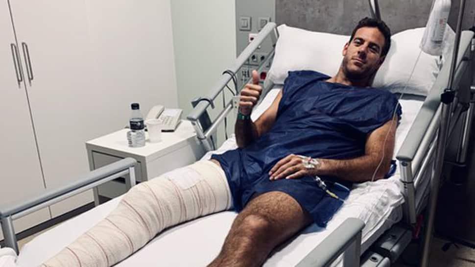 Juan Martin del Potro to miss Australian Open due to knee injury