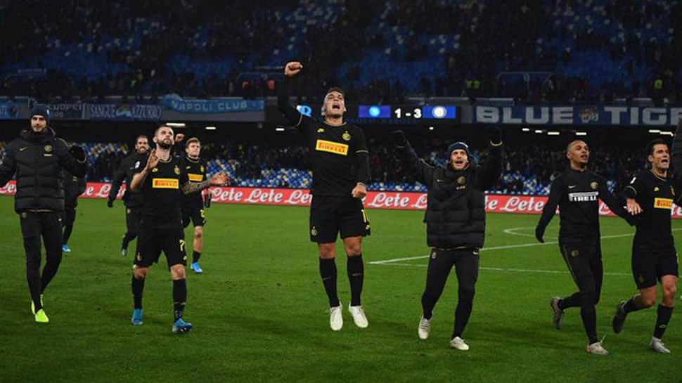 Inter go clear at top despite being held by Atalanta in Serie A tie