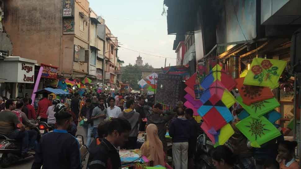 Gujarat kite market