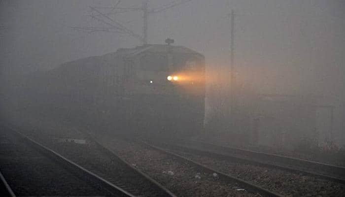 Low visibility hits rail traffic, 15 trains running late in Northern Railway region