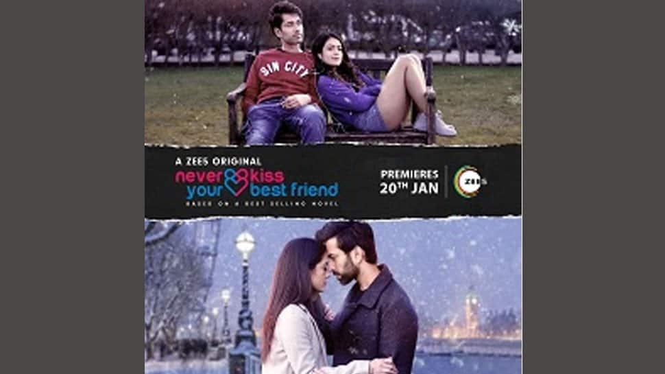 'Never kiss your best friend', say Nakuul Mehta and Anya Singh in new rom-com web series on ZEE5