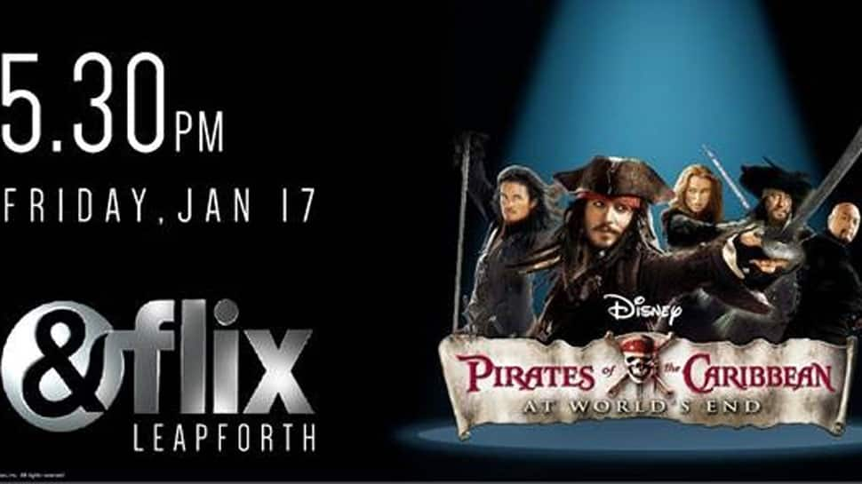 &flix set to air adventure-fantasy 'Pirates Of The Caribbean: At World's End' this Friday!