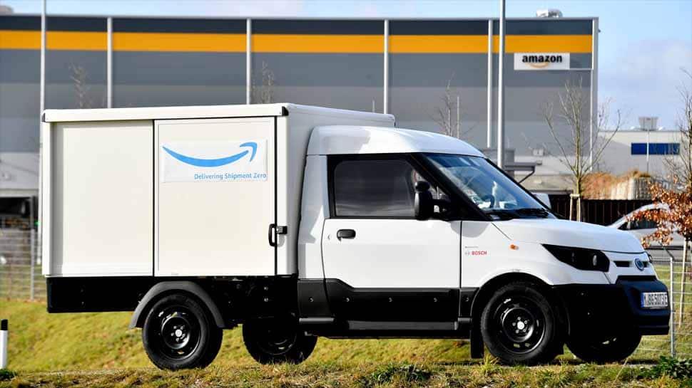 Amazon orders electric vans from Deutsche Post's StreetScooter