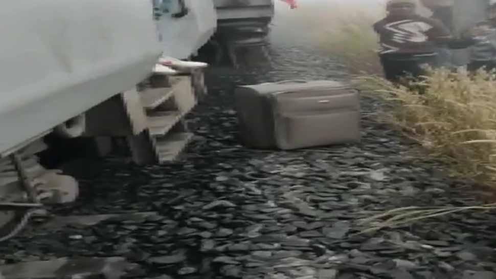 Eight coaches of Mumbai-Bhubaneswar train derail in Odisha, 40 passengers reportedly injured