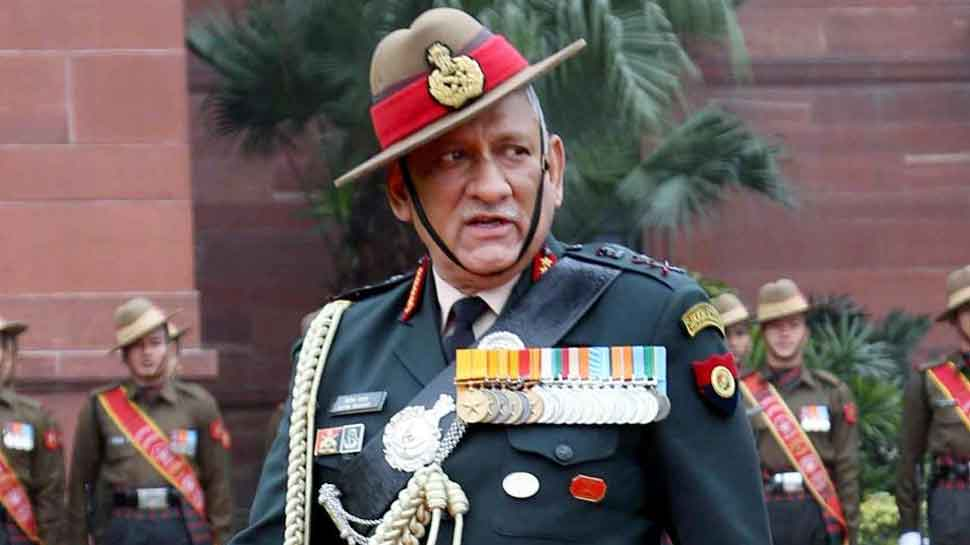 CDS Bipin Rawat calls for global action against terrorism, diplomatic isolation of Pakistan