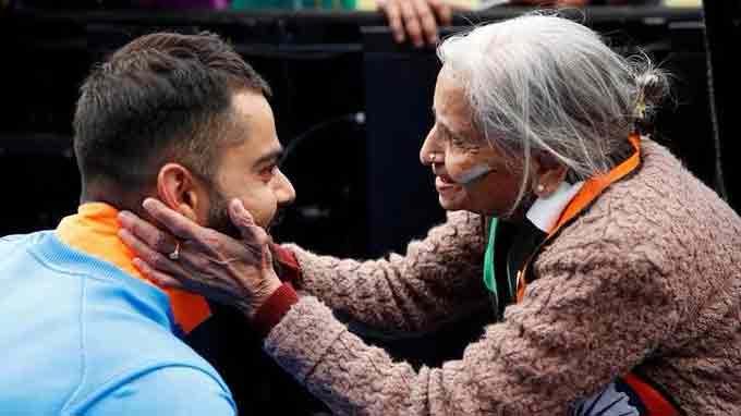 Team India's Superfan Charulata Patel dies, BCCI pays tribute