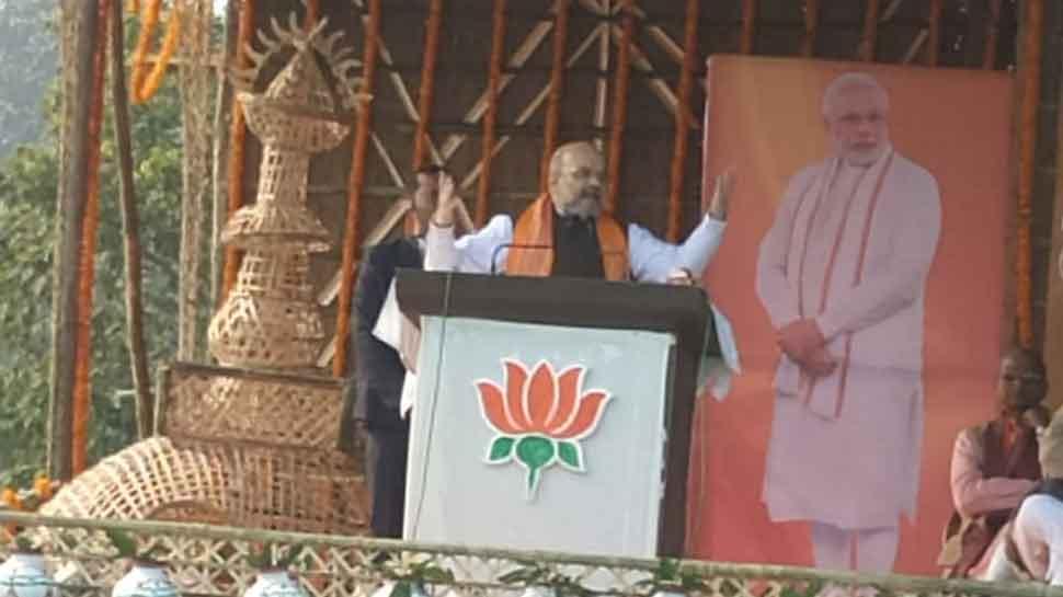 Opposition behind anti-Citizenship Amendment Act riots: Amit Shah in Bihar