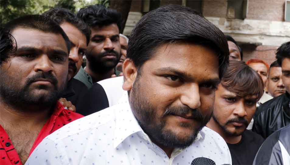 Hardik Patel arrested for not appearing before trial court in sedition case