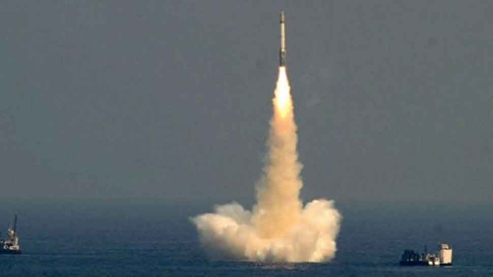 India successfully test-fires nuclear-capable K-4 ballistic missile