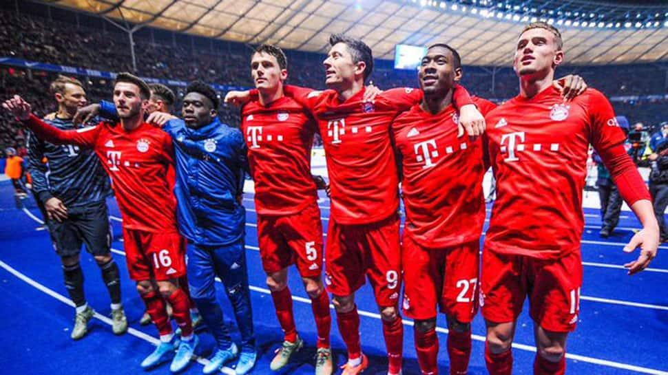 Bundesliga: Bayern Munich crush Hertha Berlin 4-0 with second-half blitz