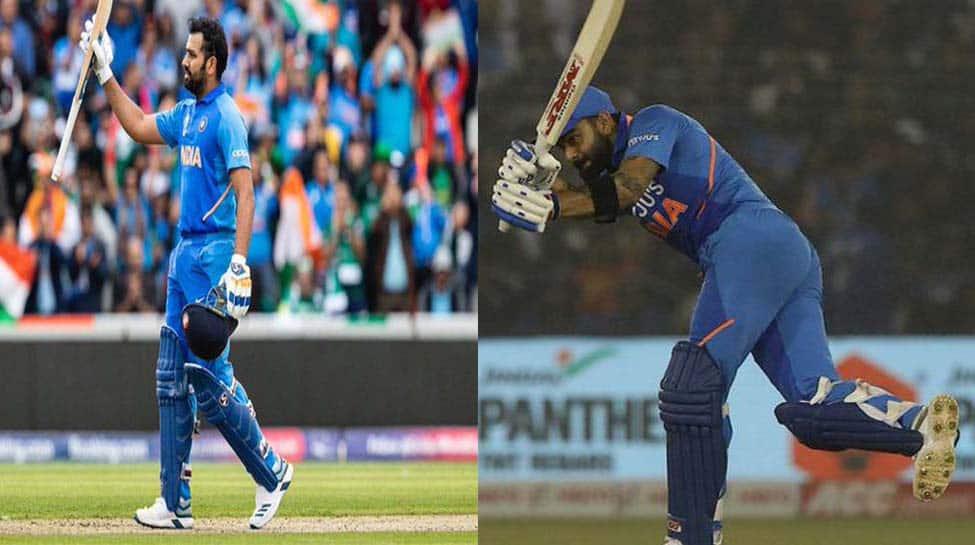 Virat Kohli, Rohit Sharma consolidate top two slots in ICC ODI rankings