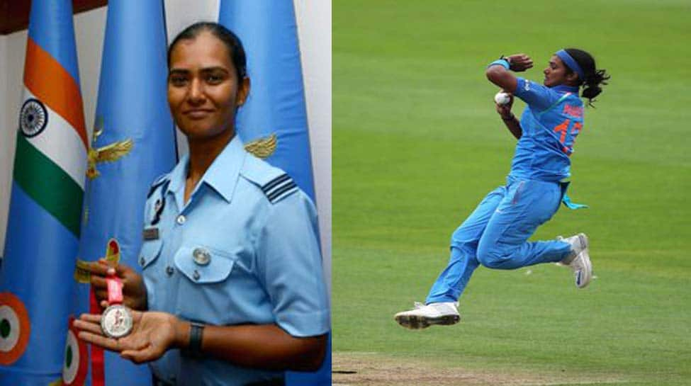 IAF lauds Sqn Ldr Shikha Pandey for being part of India's T20 World Cup squad