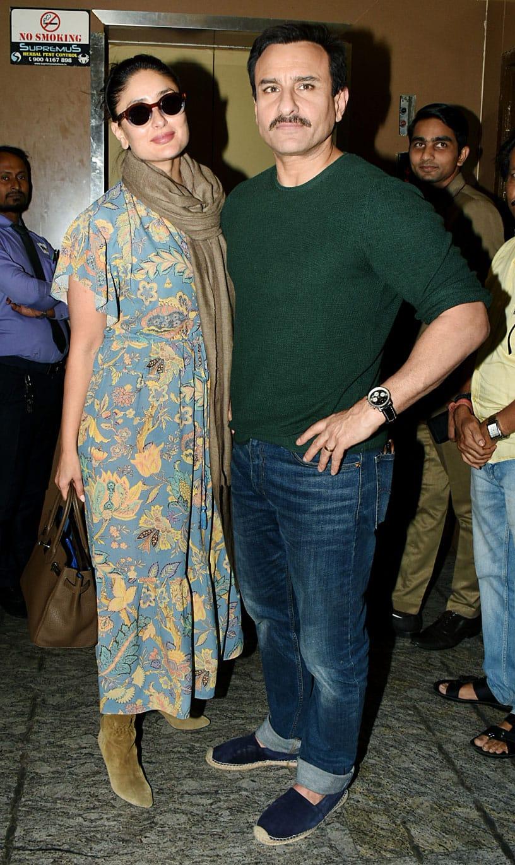 Kareena and Saif strike a pose!