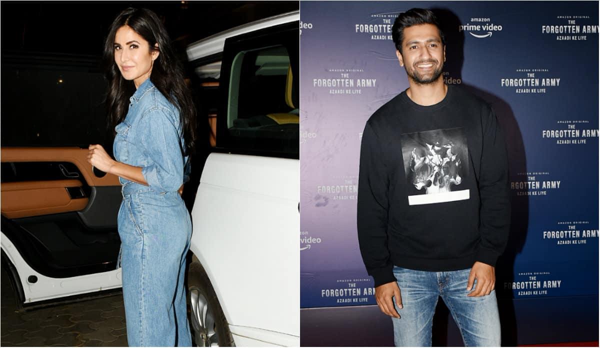 Katrina Kaif and rumoured boyfriend Vicky Kaushal spotted ...
