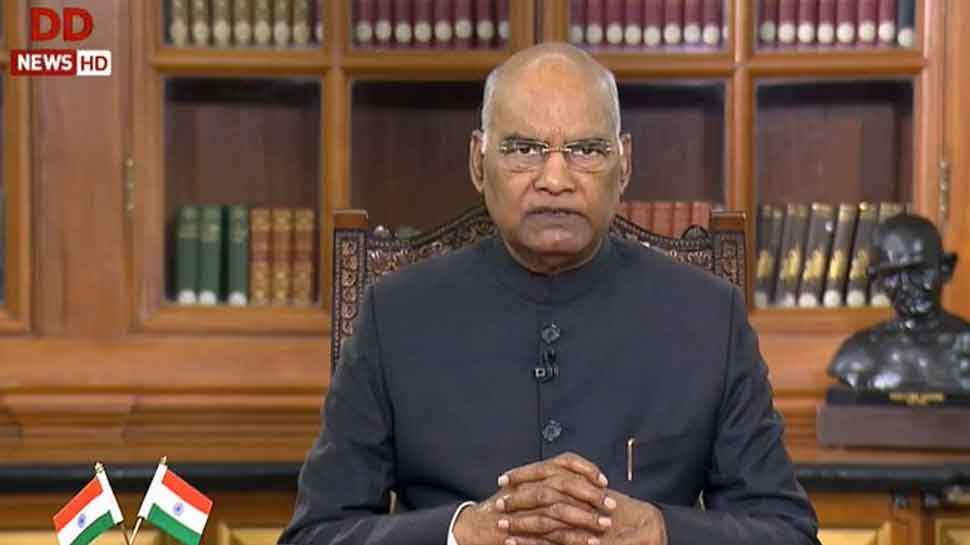 BREAKING NEWS: India proud of ISRO's achievements: President Ram Nath Kovind in his address to nation on Republic Day eve