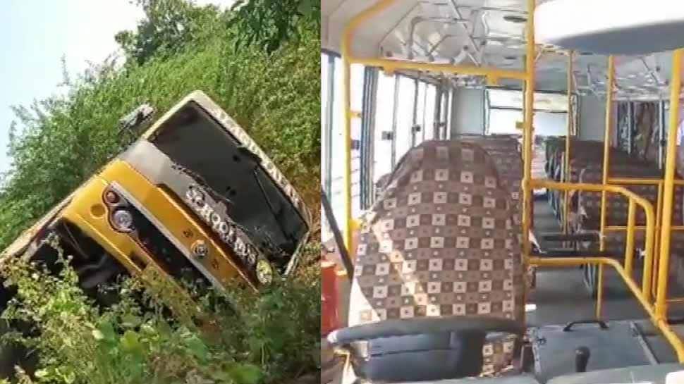 20 students injured in Tamil Nadu school bus accident, case registered
