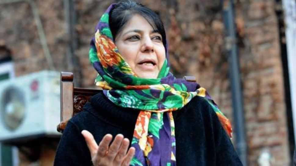Mehbooba Mufti lauds EU Parliament's decision to debate and vote on a motion against CAA