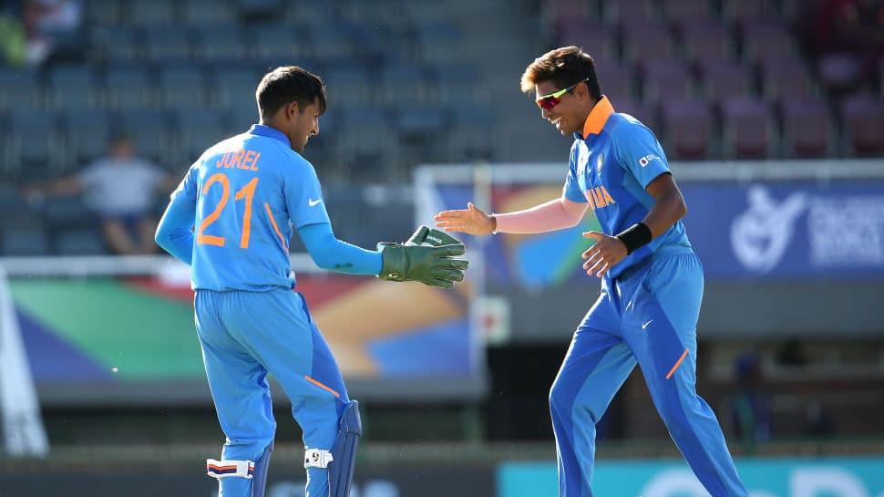 U19 ICC World Cup Quarterfinal: India trample Australia by 74 runs, reach semi-finals