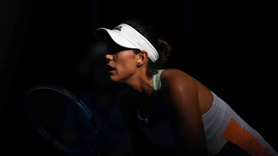 Garbine Muguruza knocks out Simona Halep from Australian Open