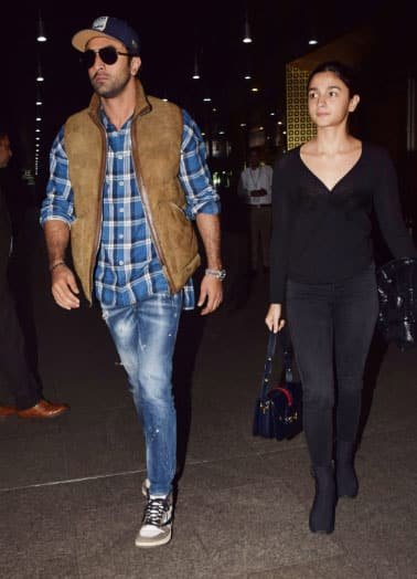 Alia Bhatt walks in with beau