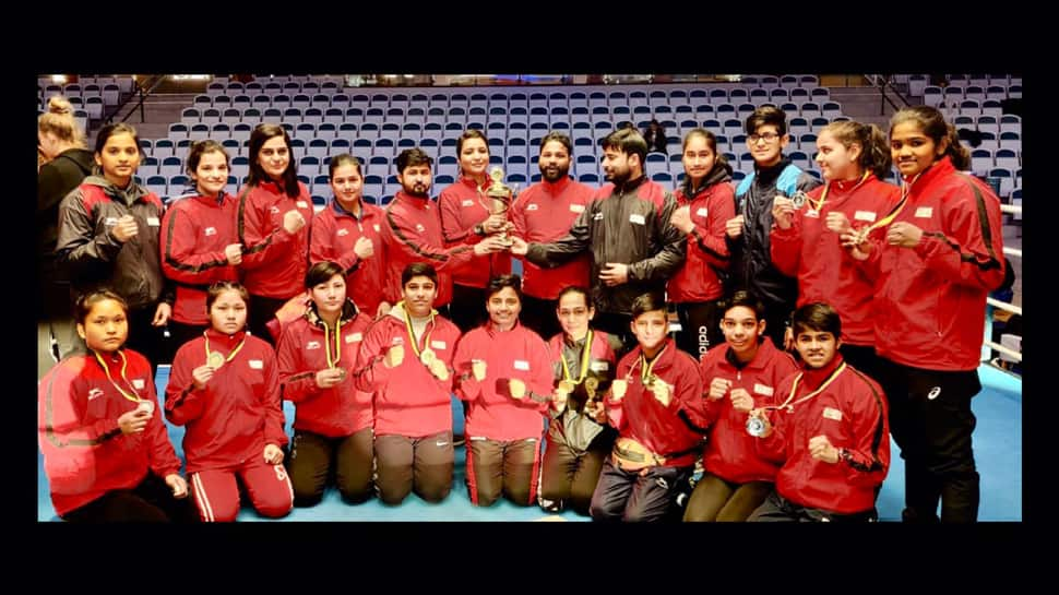 Indian boxers bag 6 gold medals at Sweden boxing meet