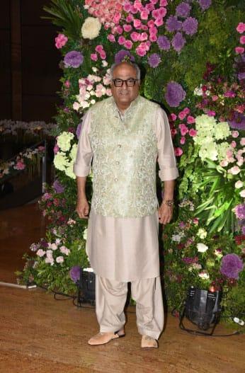 Boney Kapoor at Armaan Jain-Anissa Malhotra's wedding