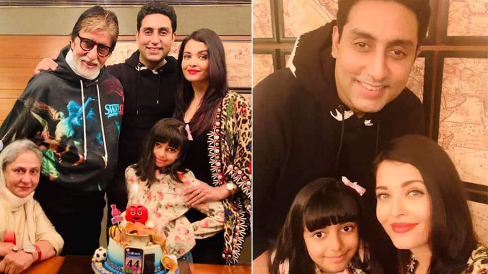 Bollywood News: Aishwarya Rai shares family pic on hubby Abhishek Bachchan's birthday