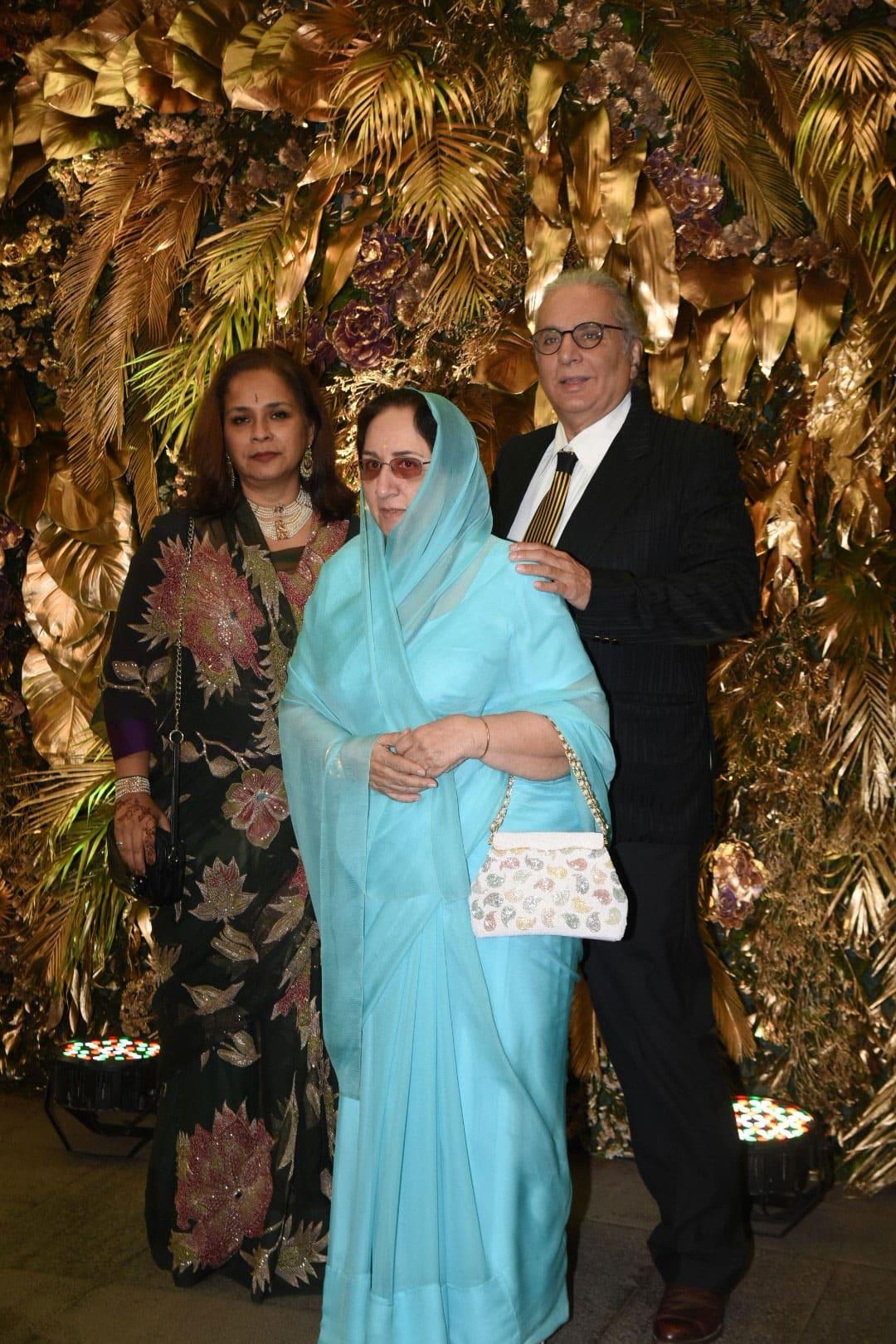 Late actor Shammi Kapoor's wife