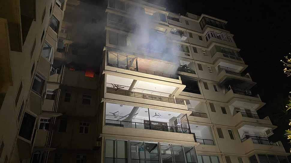 Fire in Mumbai's Malabar Hill residential building, no injuries reported