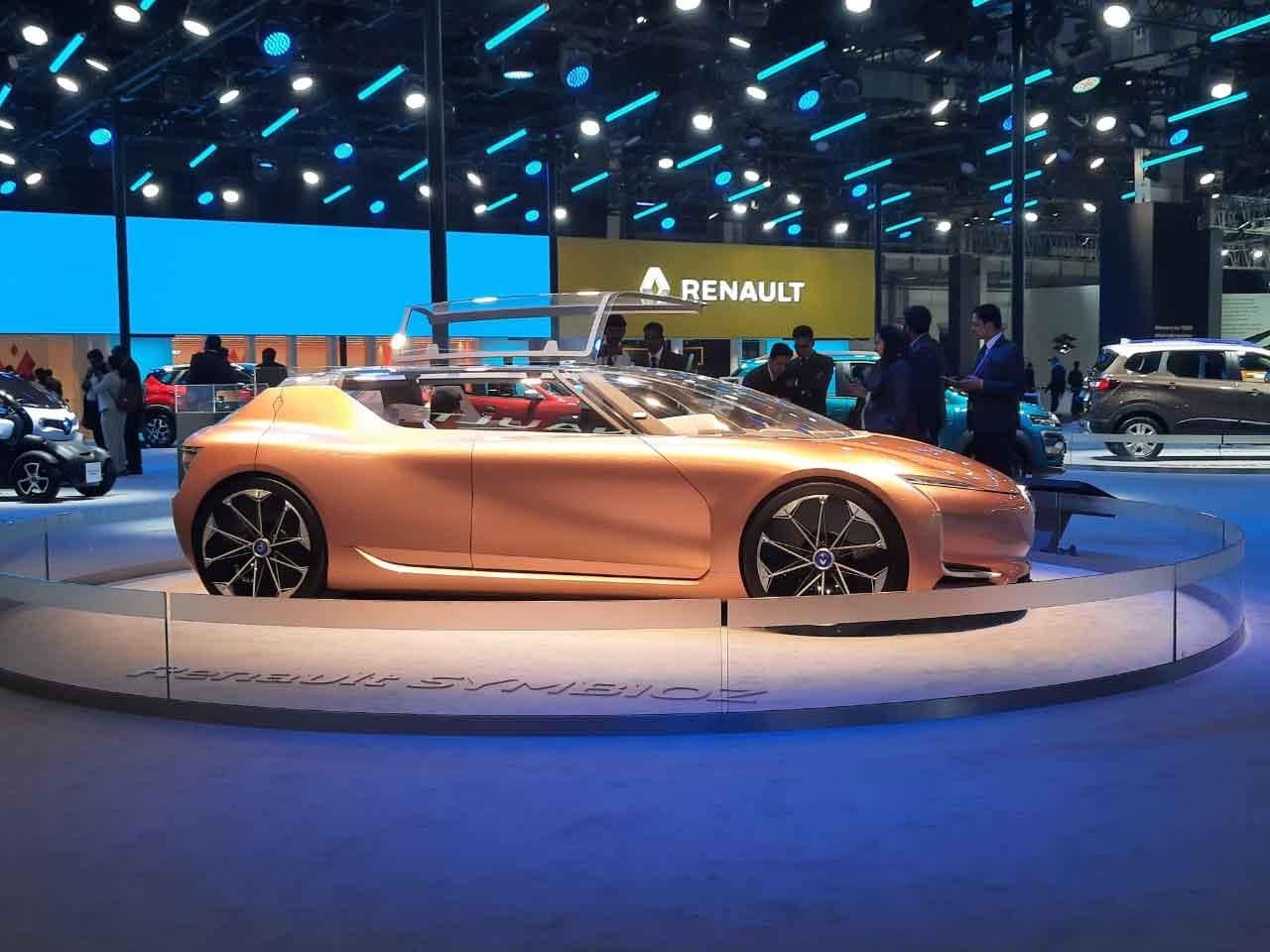 Renault electric vehicle SYMBIOZ concept