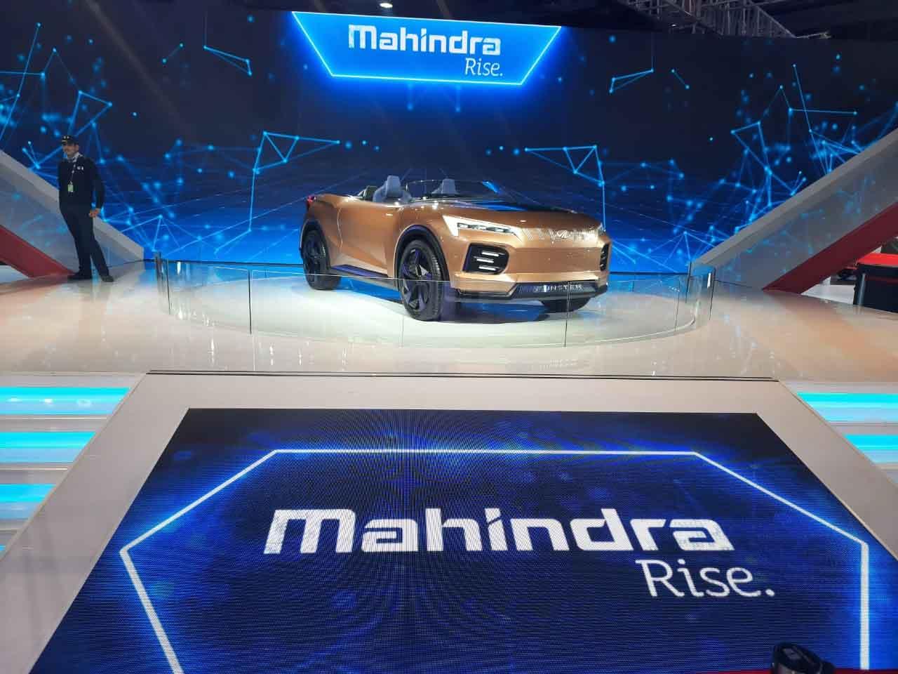 Mahindra showcases Funster at Auto expo 2020