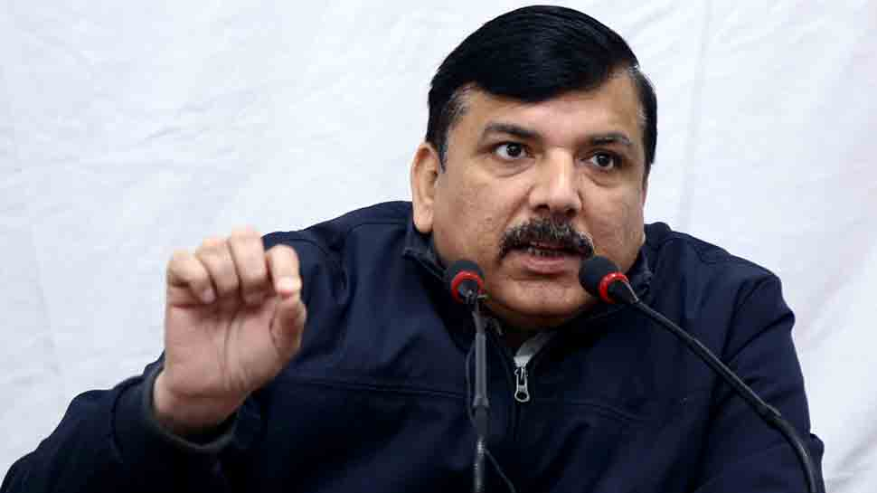 AAP MP Sanjay Singh demands clarification from EC on late release of voting percentage
