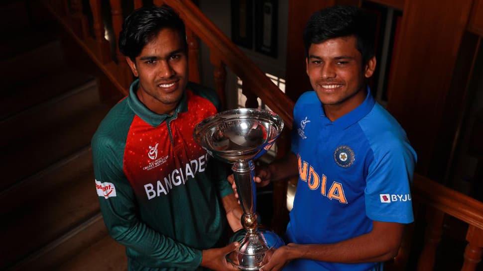 Bangladesh Under 19 players celebrate aggressively, taunt Indian cricketers; India U19 captain Priyam Garg calls it 'dirty'