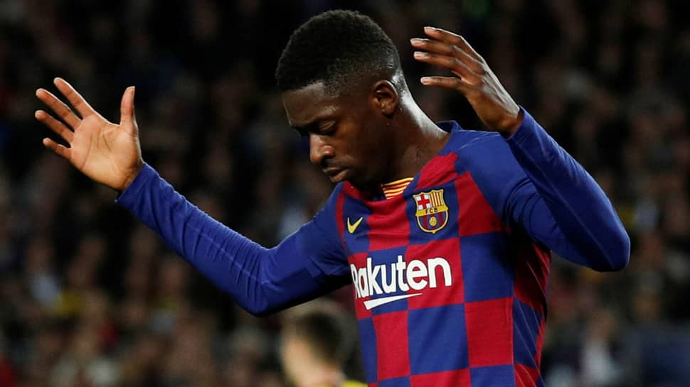 Barcelona's Ousmane Dembele ruled out for six months after operation