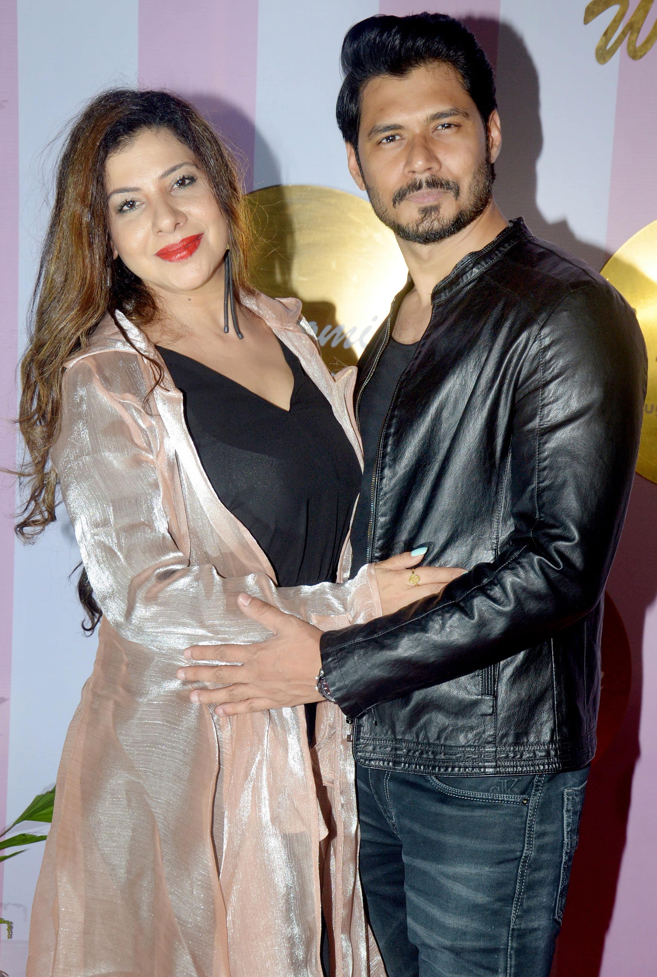 Sambhavna Seth with husband