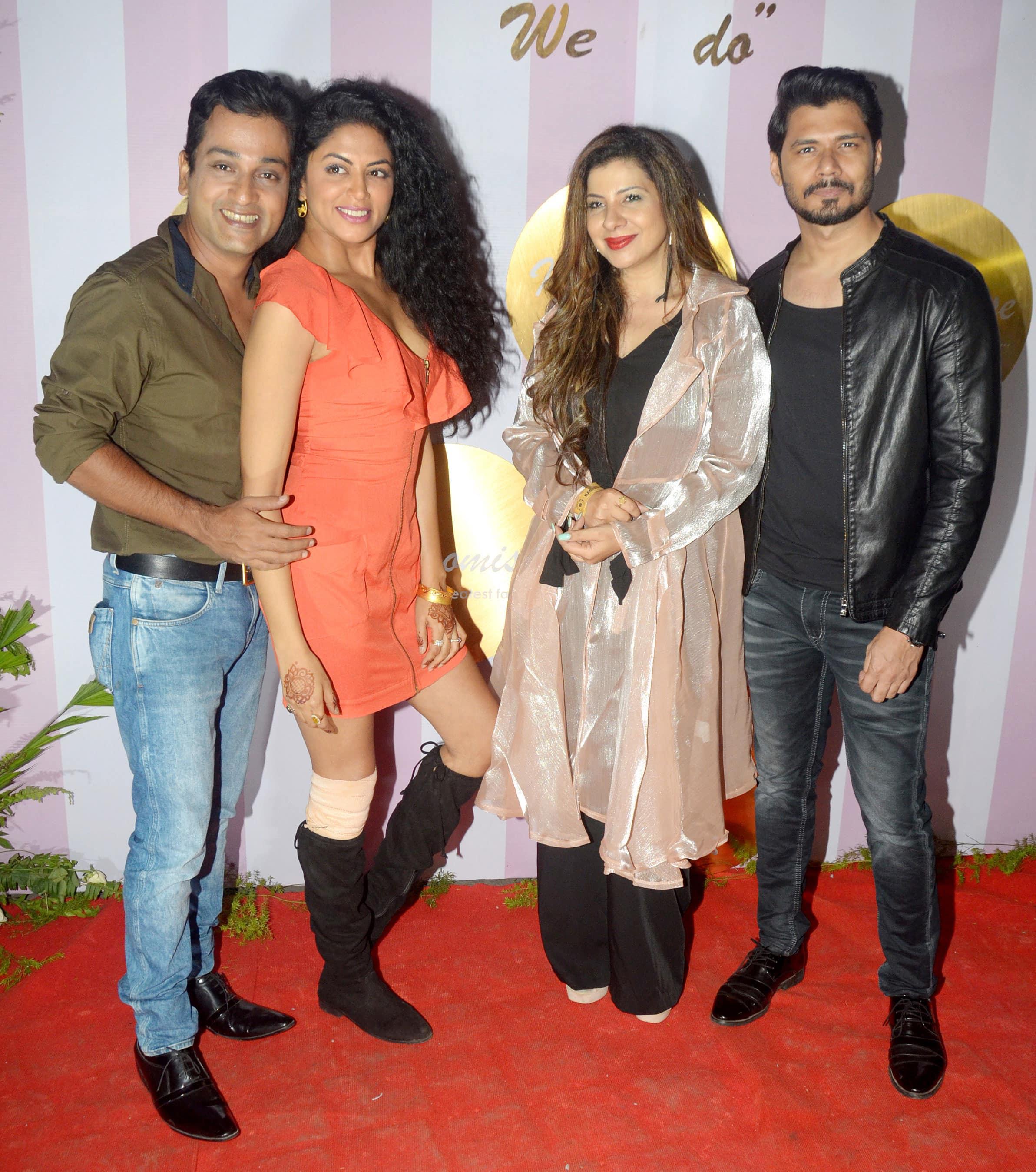 TV stars at Kamya's reception
