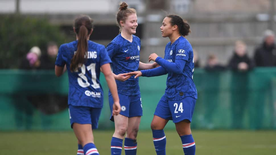 Women`s Super League: Chelsea beat Birmingham 1-0 to keep title challenge on track