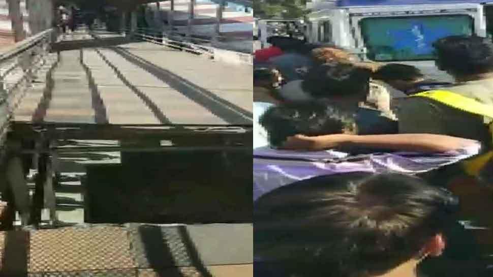 Footover bridge collapses at Bhopal Railway Station, several injured thumbnail