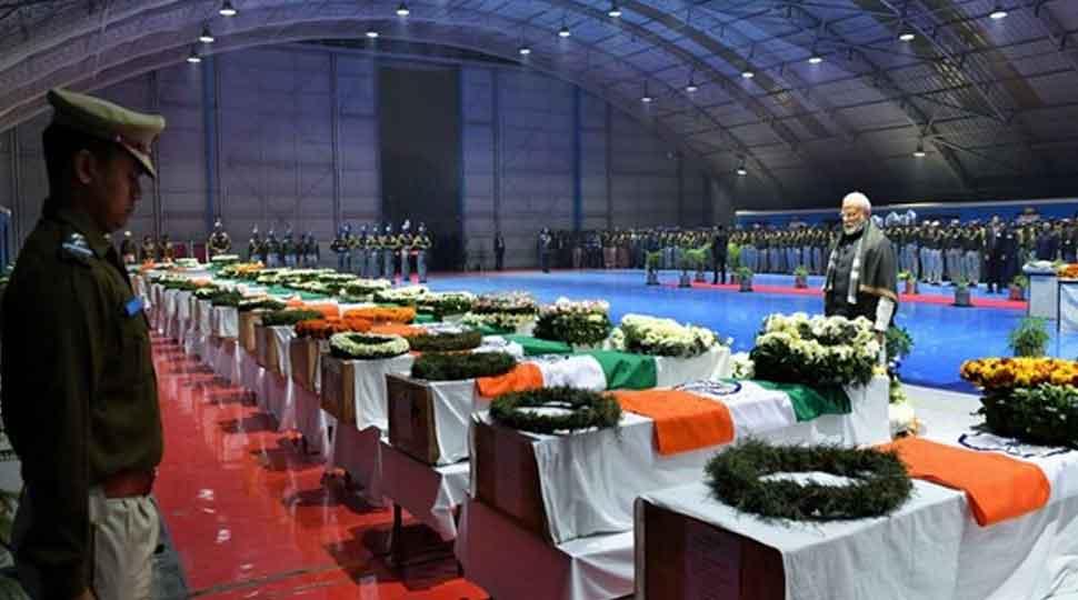 Pulwama attack anniversary: Names of 40 martyred CRPF jawans