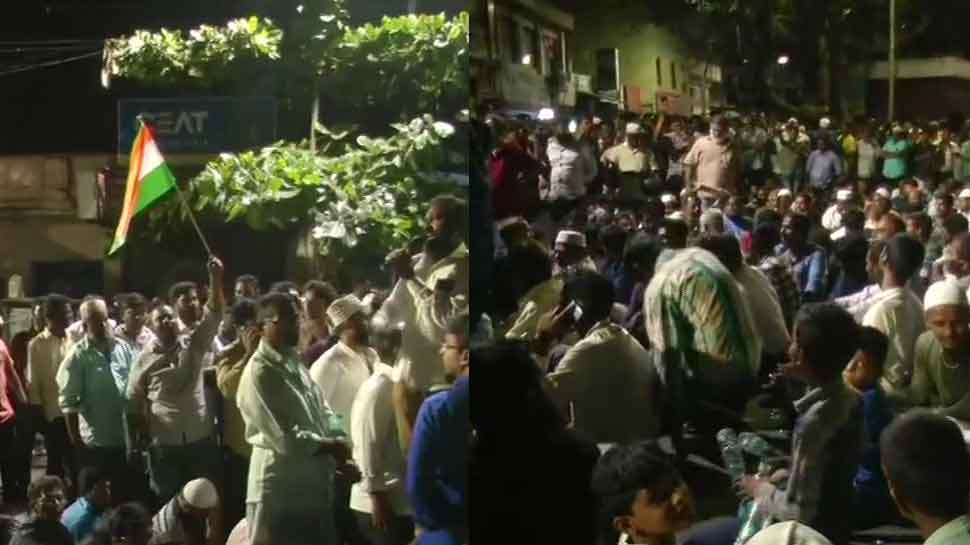 Over 100 anti-CAA, NRC protesters detained after scuffle in Chennai