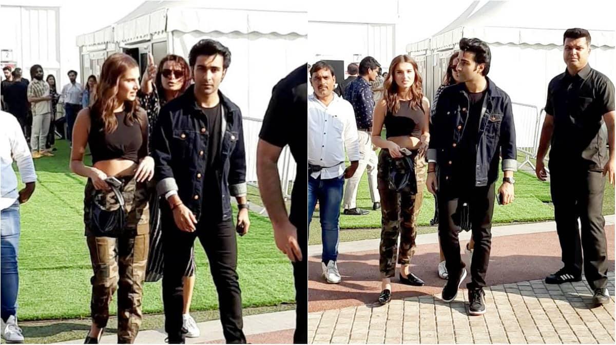 Tara Sutaria attends Lakme Fashion Week with boyfriend and Aadar Jain - See pics