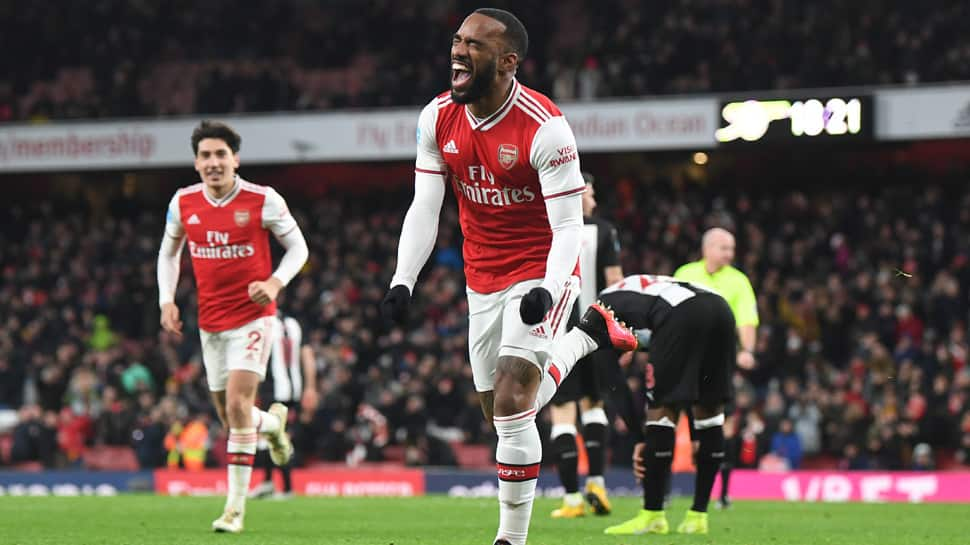 EPL: Alexander Lacazette ends his goal drought as Arsenal rams Newcastle 4-0