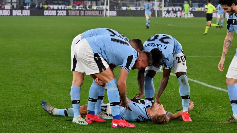 Serie A: Lazio grab 2nd spot with comeback win over Inter Milan
