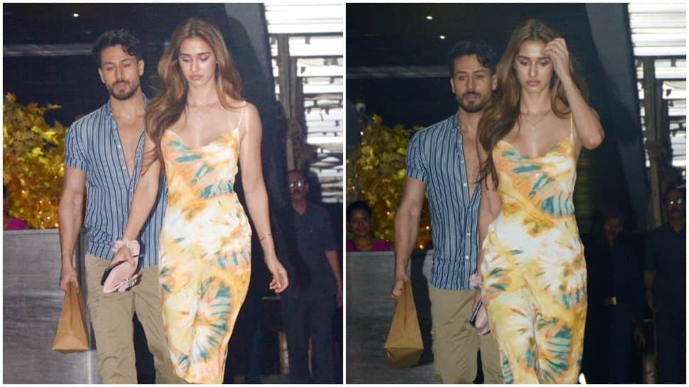 Bollywood news: Pics from Disha Patani and Tiger Shroff's dinner date are unmissable